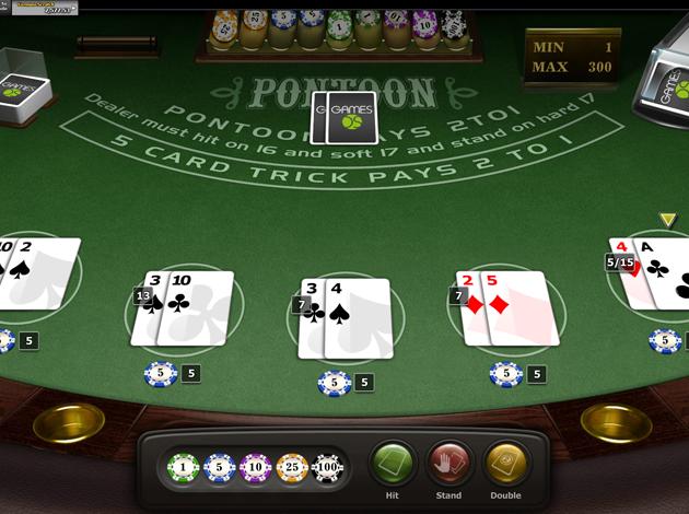 Horse poker game
